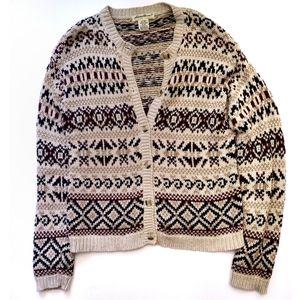 Eddie Bauer Cable Knit Cardigan